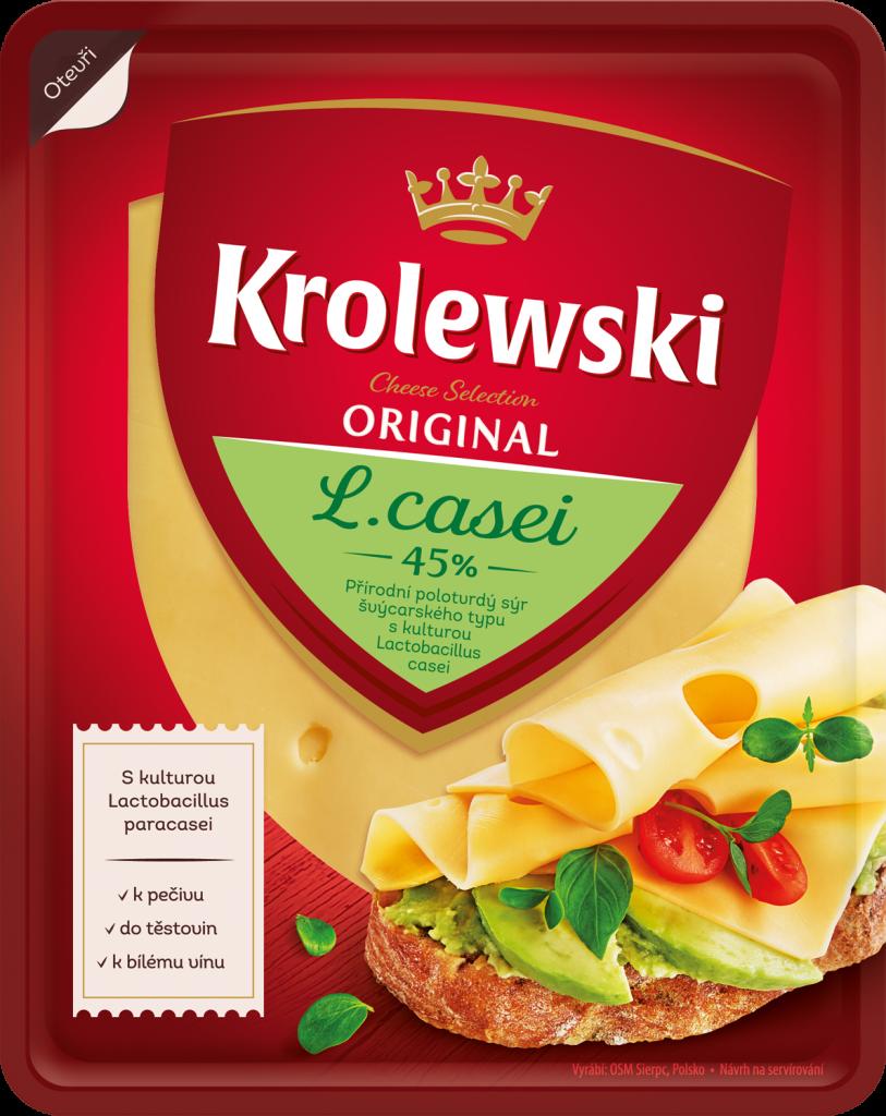 Krolewski L´Casei plátky